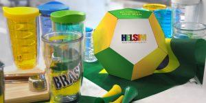 Embalagem da Helsim é inspirada na Copa do Mundo
