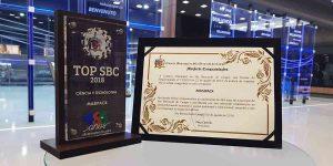 Masipack recebe troféu TOP SBC 2018