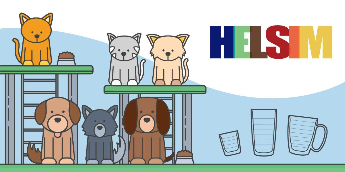 You are currently viewing Helsim apresenta linha com tema Pet em Feira de Adoção