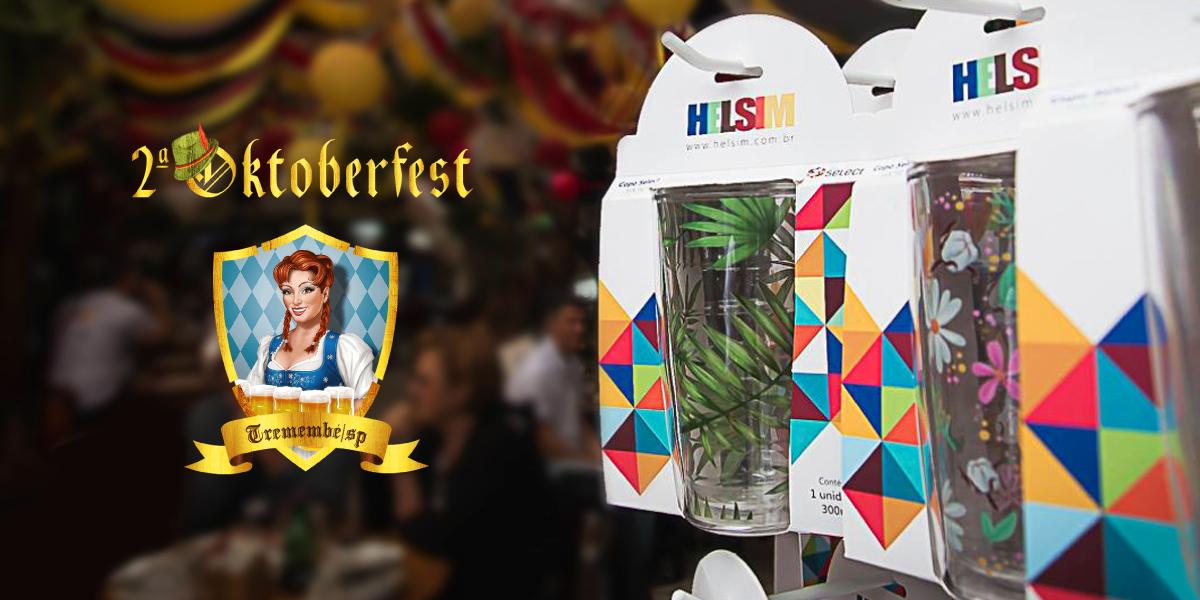 Helsim promove seus produtos em comemoração temática do Oktoberfest