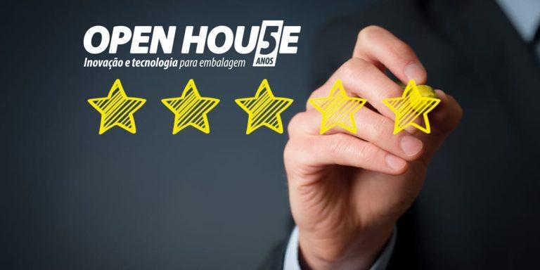 Open House 2019 encerra com aprovação de 95%