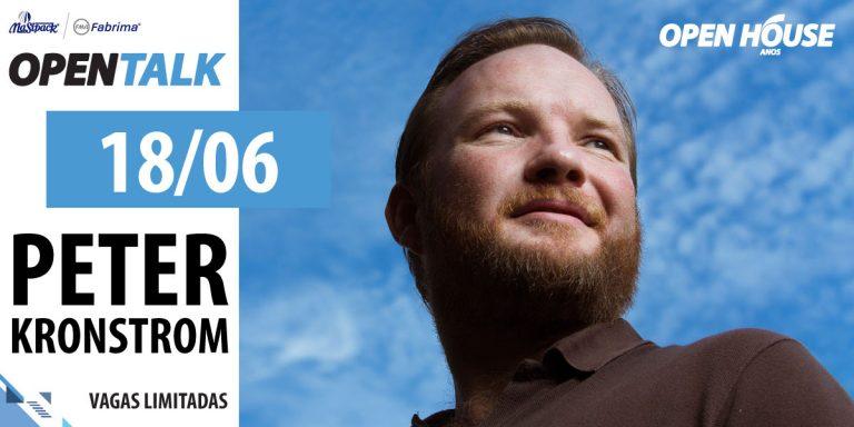 Open Talk Masipack terá palestra com Peter Kronstrom