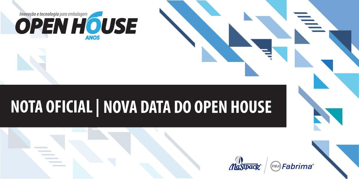 Open House acontece no mês de outubro