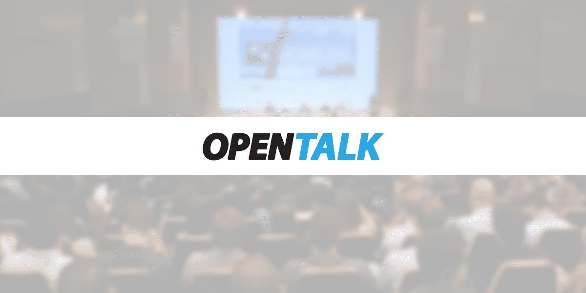 COMUNICADO  |  Palestras do Open Talk