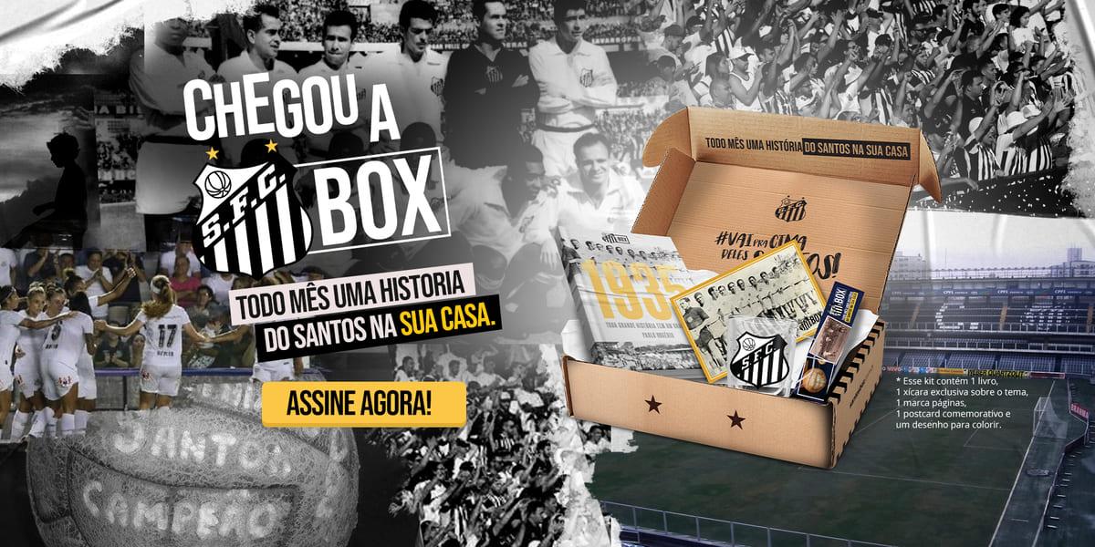 Box oficial do Santos terá produto Helsim