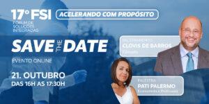 Read more about the article 17º Fórum de Soluções Integradas terá palestra de Clovis de Barros Filho